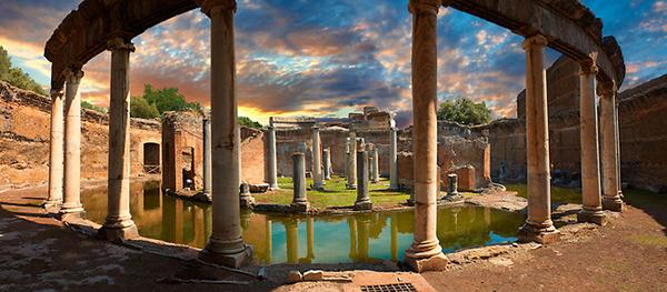 Canopus - Villa lui Hadrian - Teatrul Maritim